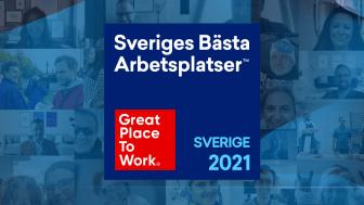 DQC är utnämnt till en av Sveriges Bästa Arbetsplatser 2021