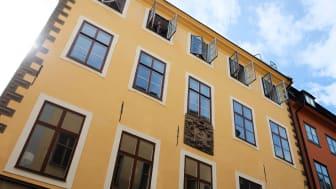 Gamla stan får sitt första gymnasium i Schönfeldtska palatset