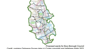Proposed wards for Bury Council