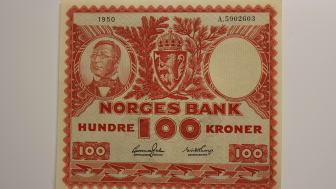 Tømmerfløteren (100 kr) 1949-62.