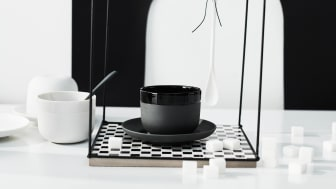 "The new Rosenthal collection ""Cappello"" may disguise itself as a bowler hat, but at second glance it presents itself as a cup and saucer for an extraordinary coffee enjoyment."