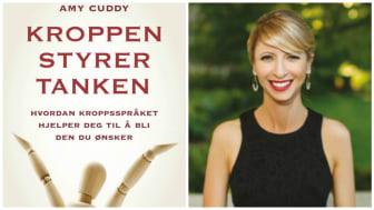 Amy Cuddy er en amerikansk sosialpsykolog, foredragsholder og forfatter. I 2012 holdt hun en verdenskjent TED-talk om hvordan hun brukte kroppspråk til å overvinne egne utfordringer. @Foto: Bob O'Connor