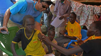 Akut insats i Sydsudan efter utbrott av mässling