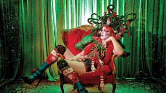 Teaterkunstner Taylor Mac i forestillingen Holiday Sauce ... Pandemic! Foto: Little Fang