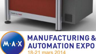 På MAX-mässan 18-21 Mars kör vi demo på EUROMOD MP65 från ISEL Germany AG.