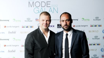 Vinnare Habits Hederspris Habit Modegalan 2012 - Jonny Johansson och Mikael Schiller, Acne