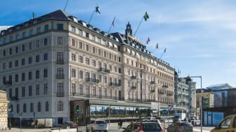 The Grand Hôtel will be renovating its façade in the first quarter of 2018, bringing out the best of the building's history