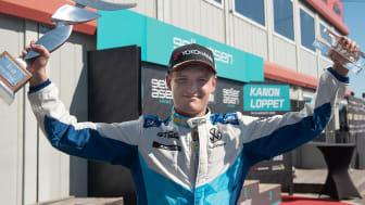 Oliver Söderström, Lestrup Racing Team. Foto: Anders Helgesson