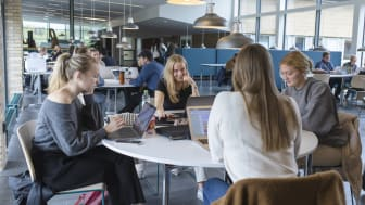 Söktrycket till Umeå universitet var rekordhögt inför höstterminen 2021. Ny statistik kan nu visa att antalet registrerade studenter också har ökat. Foto: Mattias Pettersson/Umeå universitet