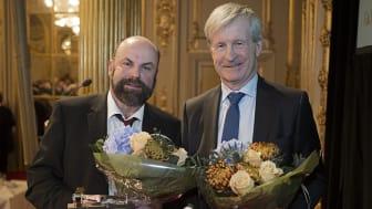 Guldklubban till Carl Bennet och Per-Olof Westlin