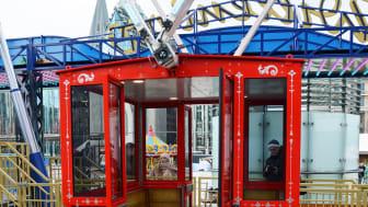 Willenborg Riesenrad 24 - Gondel mit Rollstuhlrampe und barrierefreien Türen