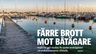 Färre brott mot båtägare med CoBoats
