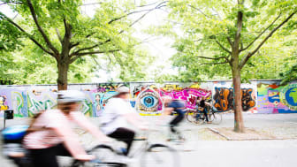 Malmös första cykelgata testas i Videdal