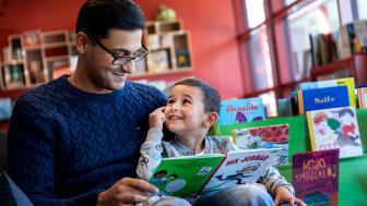 Stadsbibliotekets lunchprogram för småbarnsföräldrar