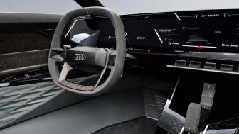 Audi skysphere cockpit