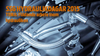 Inbjudan klar till SSG Hydraulikdagar 2015