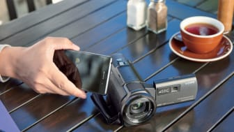 4K Camcorder FDR-AXP33 disponible dès aujourd'hui en Suisse
