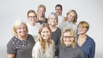 Bild på de personerna som är med i Sölvesborgs souvenirprojekt 2020. Foto: Pär Johansson