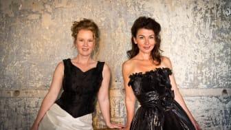 Sångduon Opera Spirits kommer till Dansmuseet i oktober. Foto: Tor Borgén