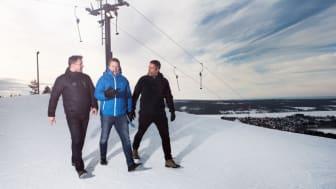 Christer Lundholm, Jens Löfgren och Andreas Marklund. Grundare och delägare i Netgraph.
