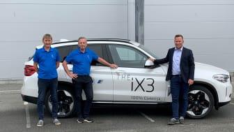 Per Åge Høvik, Arne Hoem Pedersen og Espen Bugge Larsen ser frem til å flytte inn i helt nye lokaler med økt fleksibilitet.