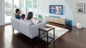 La nueva barra de sonido HT-G700 de 3.1 canales de Sony