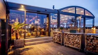 Terrassenüberdachungen für die Außengastronomie ganzjährig einsetzbar