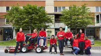 300 ungdomar får sommarjobb hos Stena Fastigheter