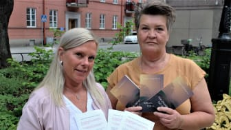 Lena Wiking och Erja Lukkarila. Foto: Roger Q Hjelmqvist