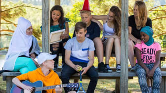 Aktiv sommar ger barn i olika åldrar möjlighet att delta i läger.