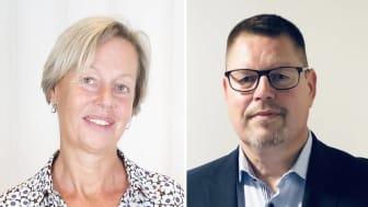Lena Joelsson och Jonas Ivarsson - nya ledamöter i Berotecs styrelse