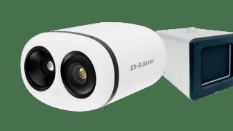D-Link presenterar nu ett kamerapaket för temperaturskanning
