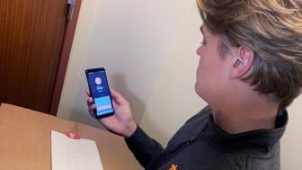 Filmade leveranser och information om budet skulle göra att fler känner sig bekväma med att använda det digitala låset vid en hemleverans.