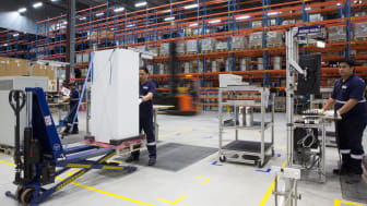 Panalpina's Logistics Manufacturing hub in Dubai