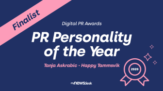 PR Personality of the Year
