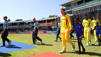 England and Australia in action last year. Photo: Getty Images