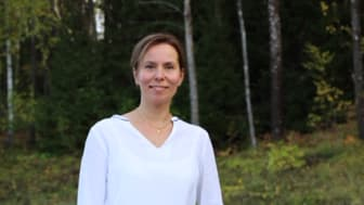 Linda Elmén börjar som hållbarhetschef på Stockholmsmässan vid årsskiftet. Fotograf: Gunnar Elmén.
