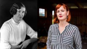 Astrid Väring och Maria Broberg, författare till böckerna I som här inträden... och Bakvatten