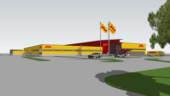DHL Express Landvetter 3D markvy