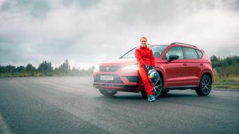 Mikaela Åhlin-Kottulinsky ger expertråd kring bilköp tillsammans med Blocket