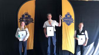För andra året i rad finns Sveriges bästa bussförare i Transdev-koncernen