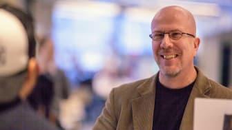 Richard Pettersson, museologi- och kulturarvsforskare Foto: Per Melander, Umu
