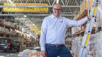 Geir Thomas Fossum, vd Beijer Byggmaterial gläds över den starka inledningen på 2020.