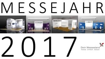 Messestände mit Design für Messen im Jahr 2017