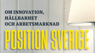 Omslag till boken Position Sverige - om innovation, hållbarhet och arbetsmarknad