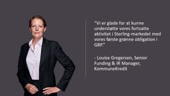 KommuneKredit udsteder første grønne obligation i Sterling markedet