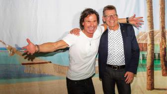 Petter Stordalen og Jan Vendelbo