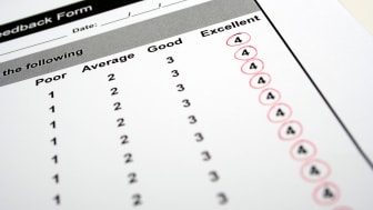 Sure, it's always nice to hear from your customers and see high rankings, but a feedback form in which you get top or near-top marks for everything is a sheer waste of everyone's time.