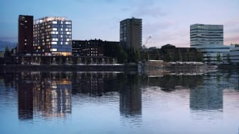 Nya Clarion Hotel i Umeå