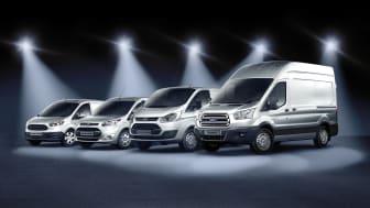 Ford tok sin høyeste andel av Europas nyttekjøretøymarked på 6 år